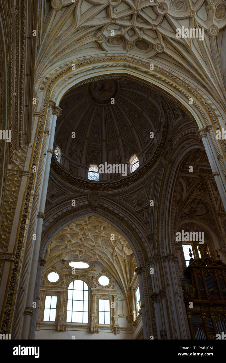 Mezquita: The Great Mosque–Cathedral of Cordoba, Andalusia, Spain - Stock Image