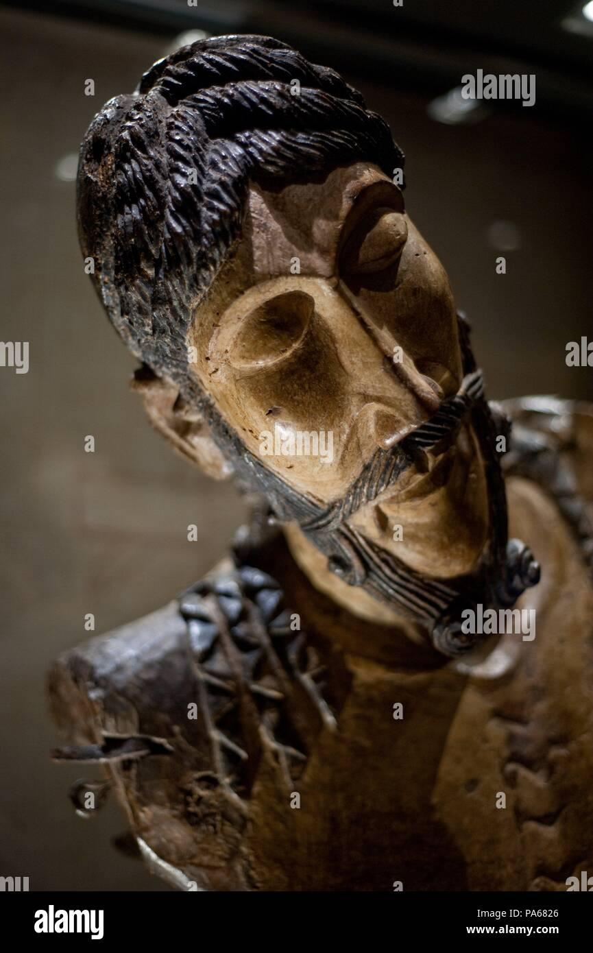 Anonymous / 'Christ of Mig Aran' (detail), 13th century, Sculpture