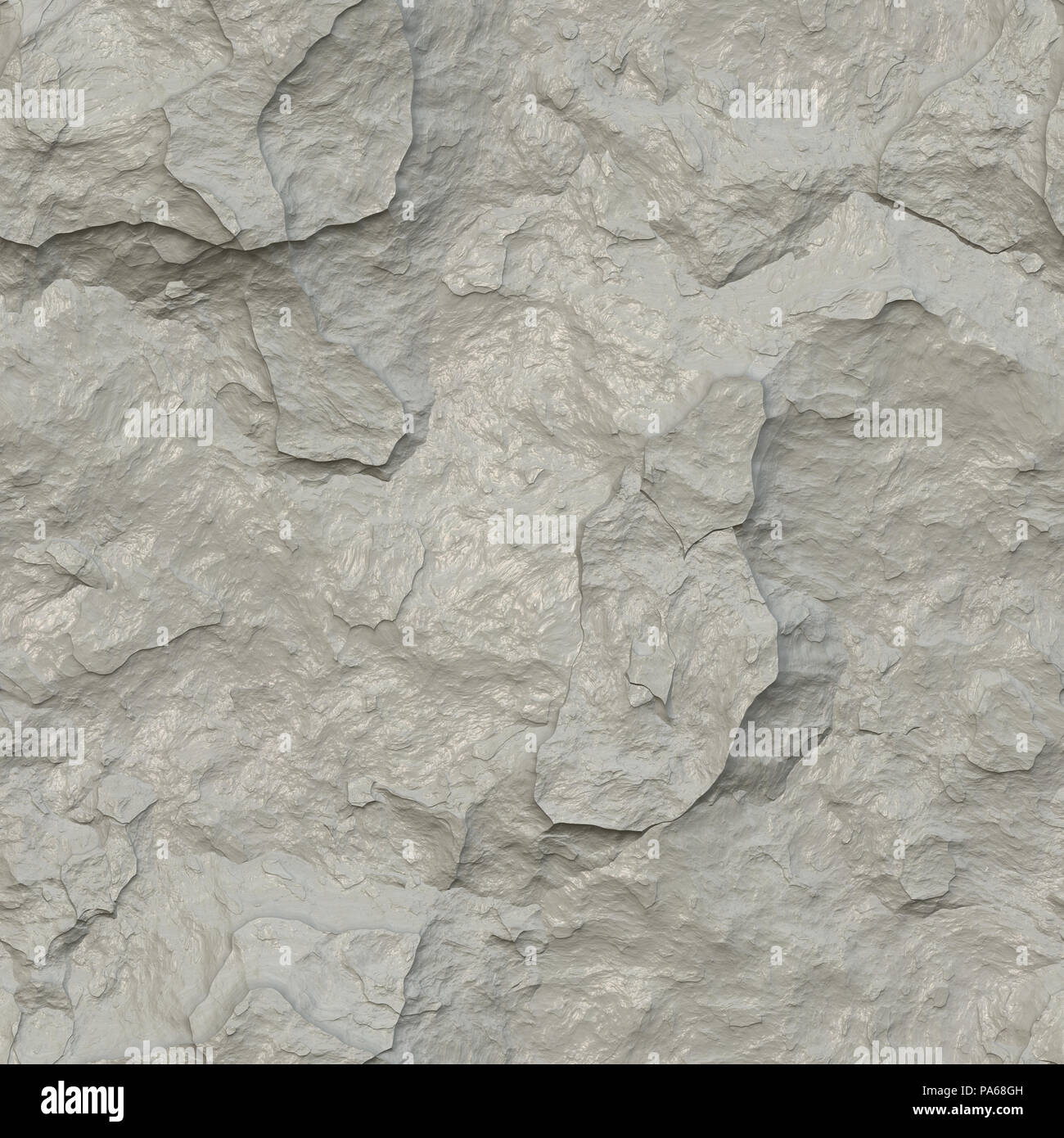 An illustration of a nice chalk stone texture seamless - Stock Image