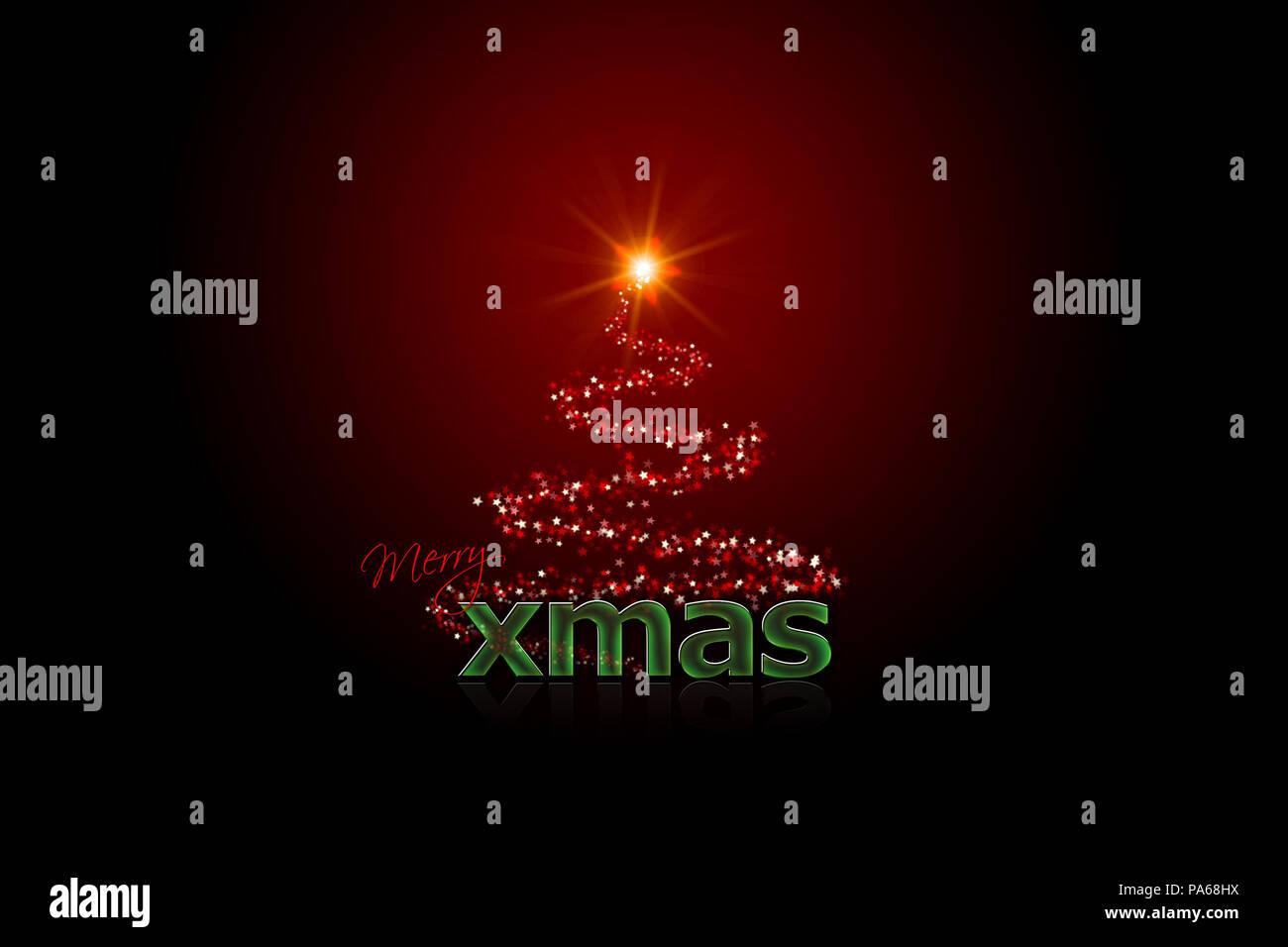An illustration of a nice xmas theme Stock Photo: 212809462 - Alamy