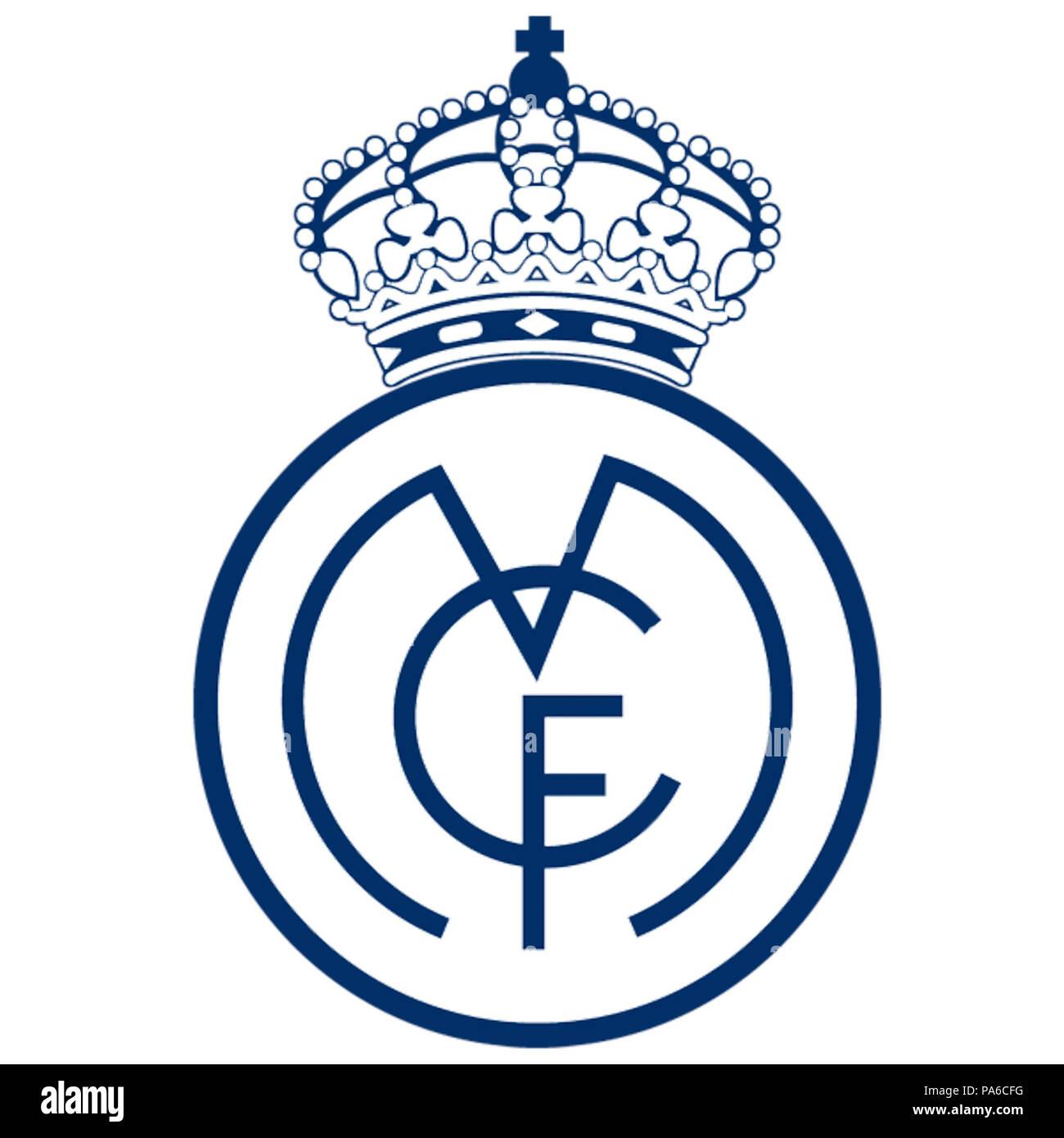 626 Escudo Real Madrid 1920 Stock Photo  212812532 - Alamy. 626 Escudo Real  Madrid. Pegatinas ESCUDO REAL MADRID REF  PD115 - Ecoshirt pegatinas y . 91f1cfb21c3a6