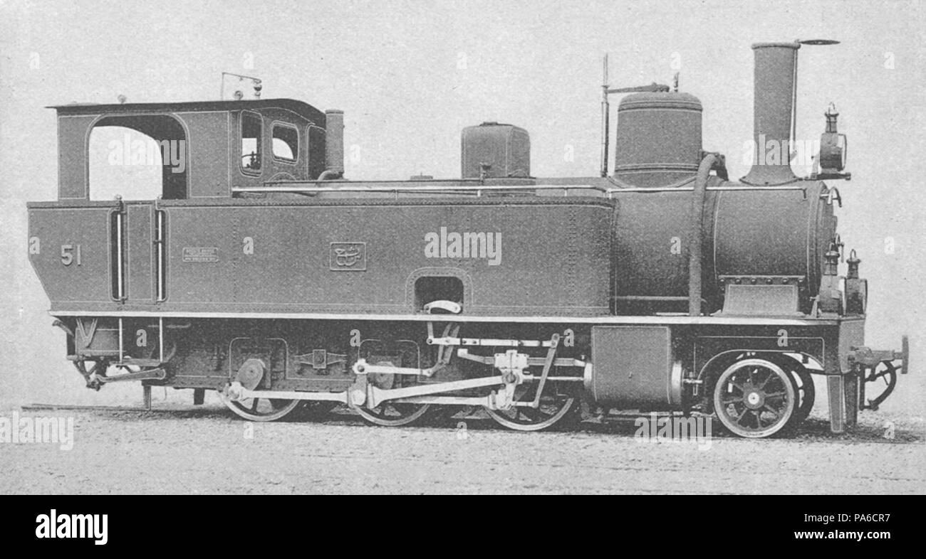 193 Beirut-Damaskus Adhäsions-Lokomotive Stock Photo