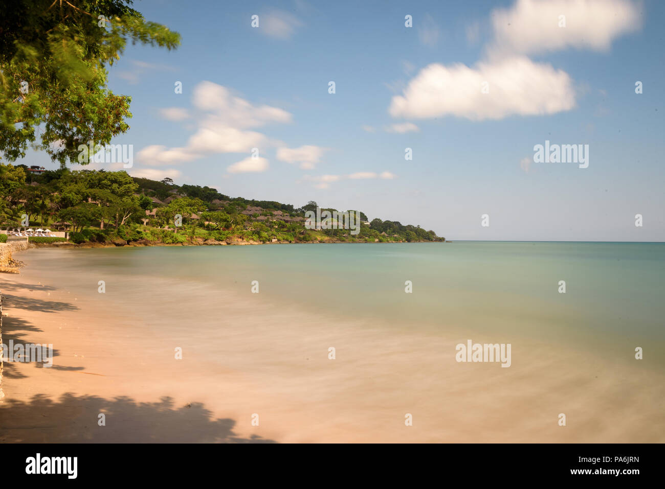 Jimbaran Beach Bali Indonesia Stock Photo 212817465 Alamy