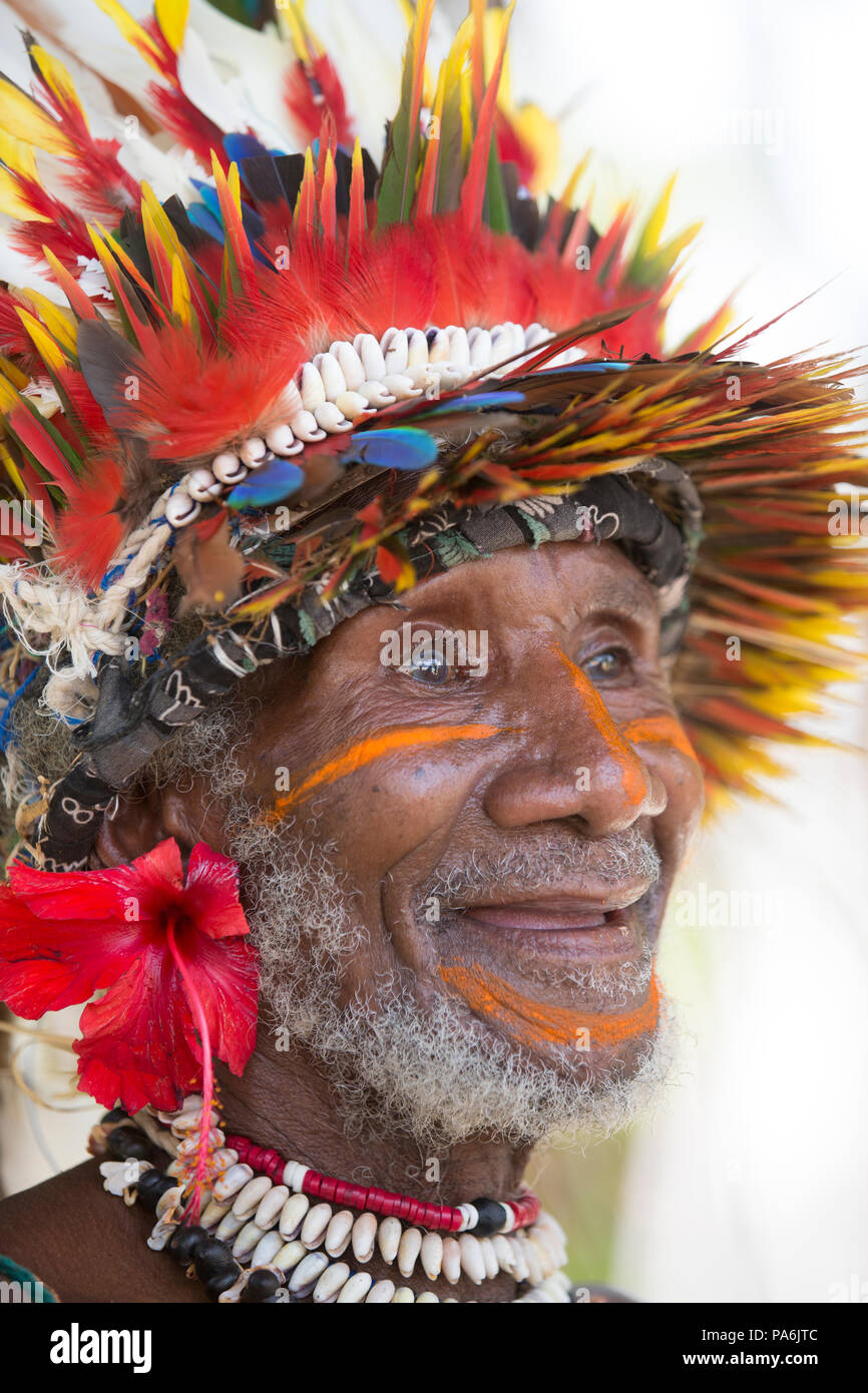 Tufi village, Papua New Guinea - Stock Image