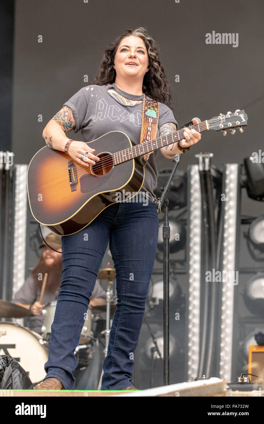 Twin Lakes Wisconsin USA 20th July 2018 ASHLEY MCBRYDE During The