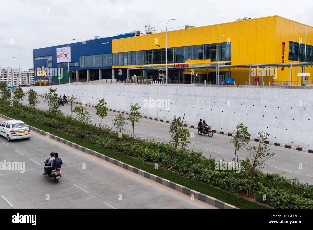 Hyderabad,India  21th July,2018 Swedish furniture giant IKEA will