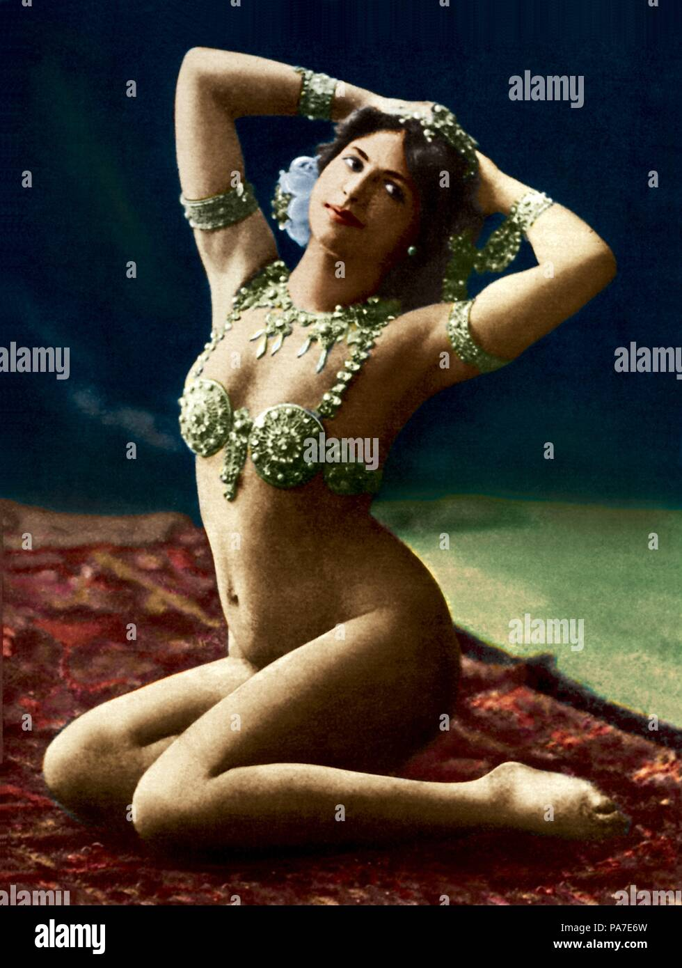 Mata Hari in La Scala. Museum: Fries Museum, Leeuwarden. - Stock Image