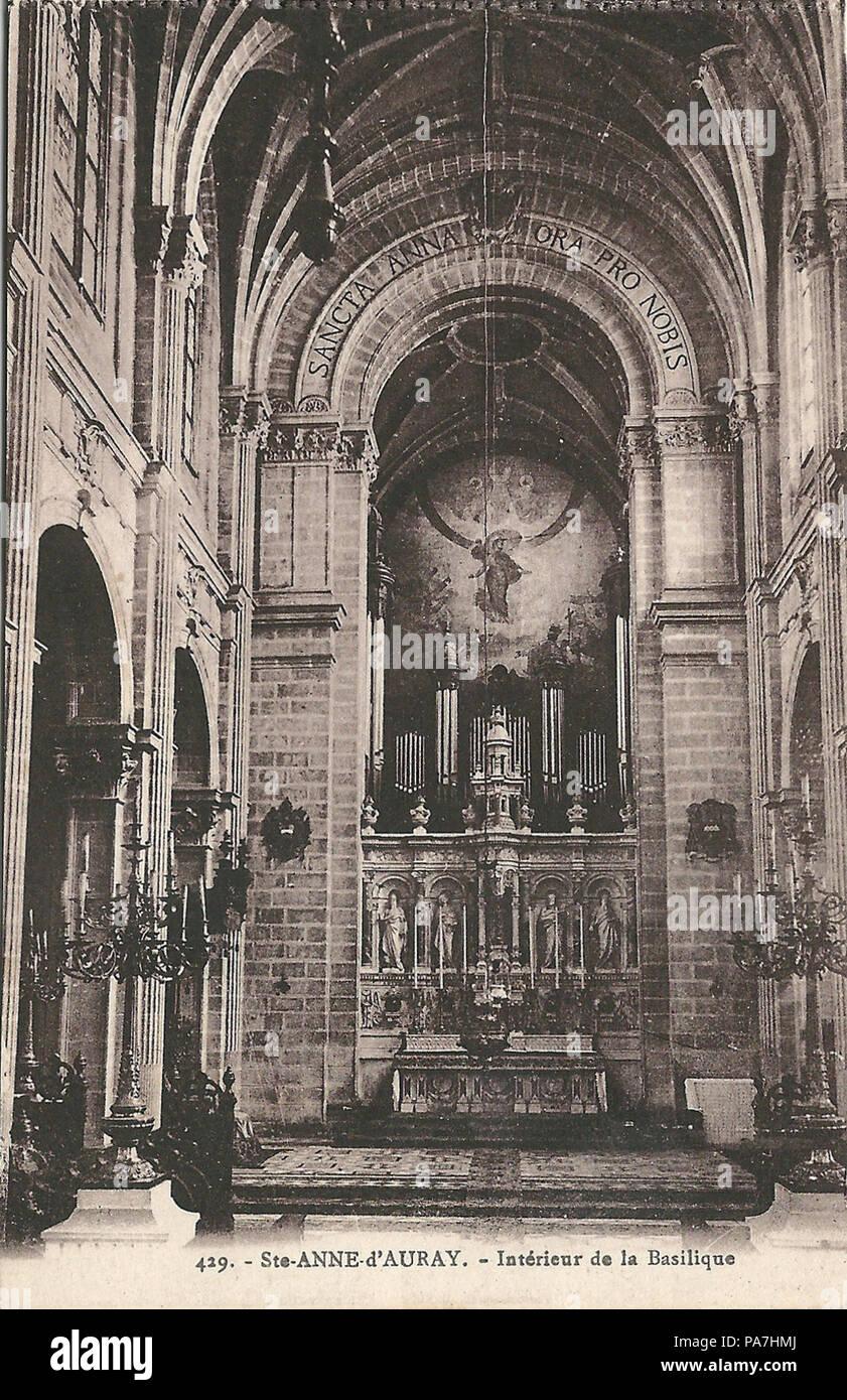Architecte D Intérieur Auray 226 sainte-anne-d'auray-fr-56-vers 1930-la basilique