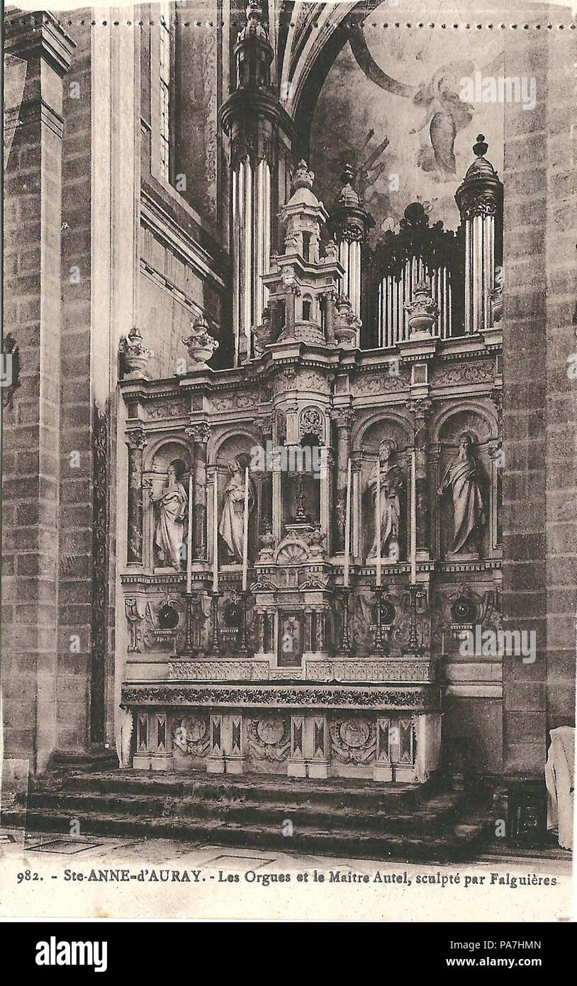 226 sainte anne dauray fr 56 vers 1930 la basilique intrieur 3