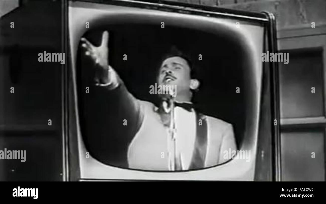 68 Domenico Modugno - Destinazione Sanremo film 1959 Stock Photo