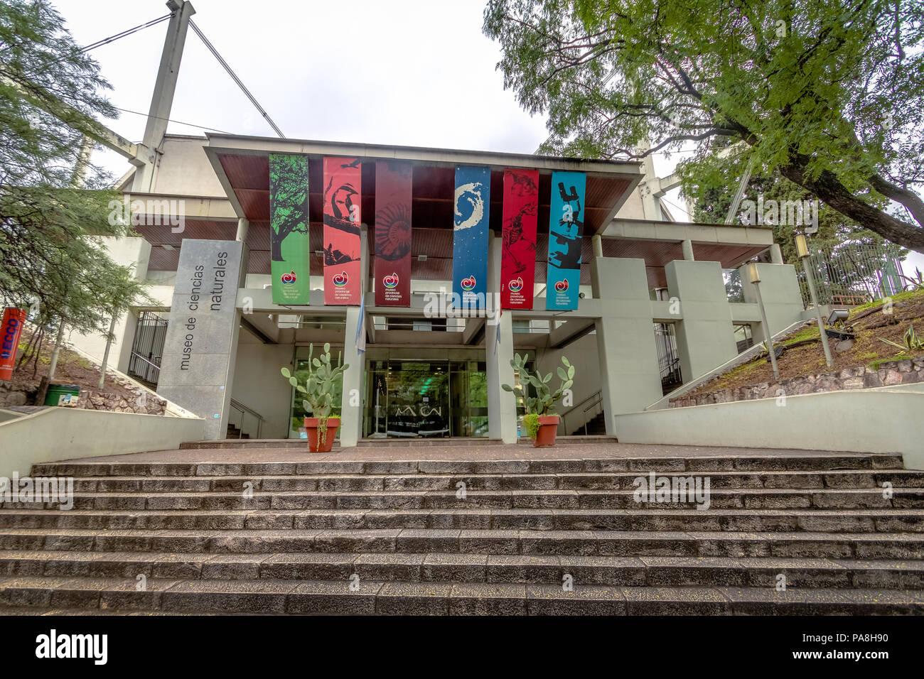 Natural Sciences Museum (Museo Provincial de Ciencias Naturales) Facade - Cordoba, Argentina - Stock Image
