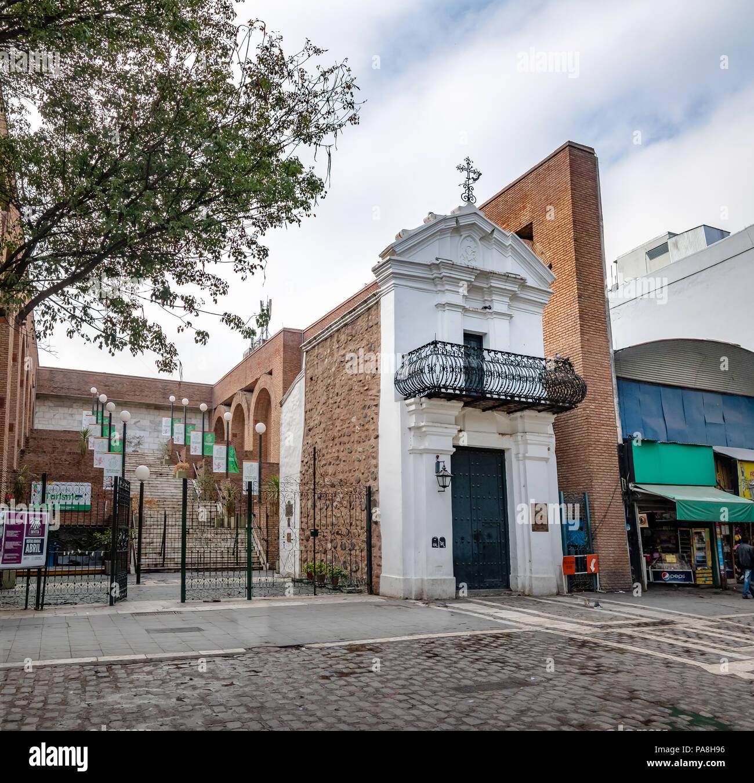 Obispo Mercadillo House near San Martin Square - Cordoba, Argentina - Stock Image