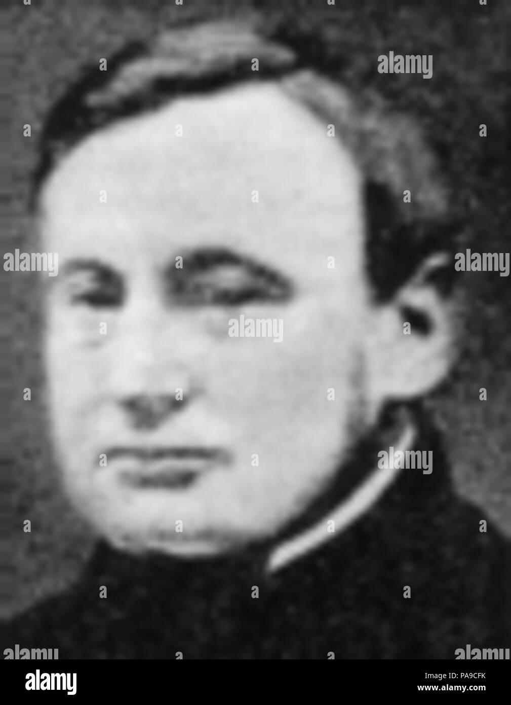 189 Otto Frederik Christin Jørgensen - Stock Image