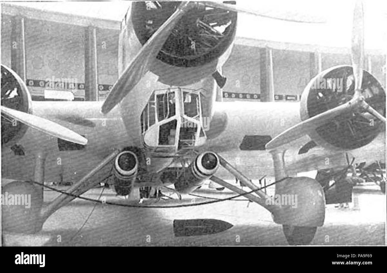 210 R A  - Savoia-Marchetti SM 81 aerosilurante Stock Photo