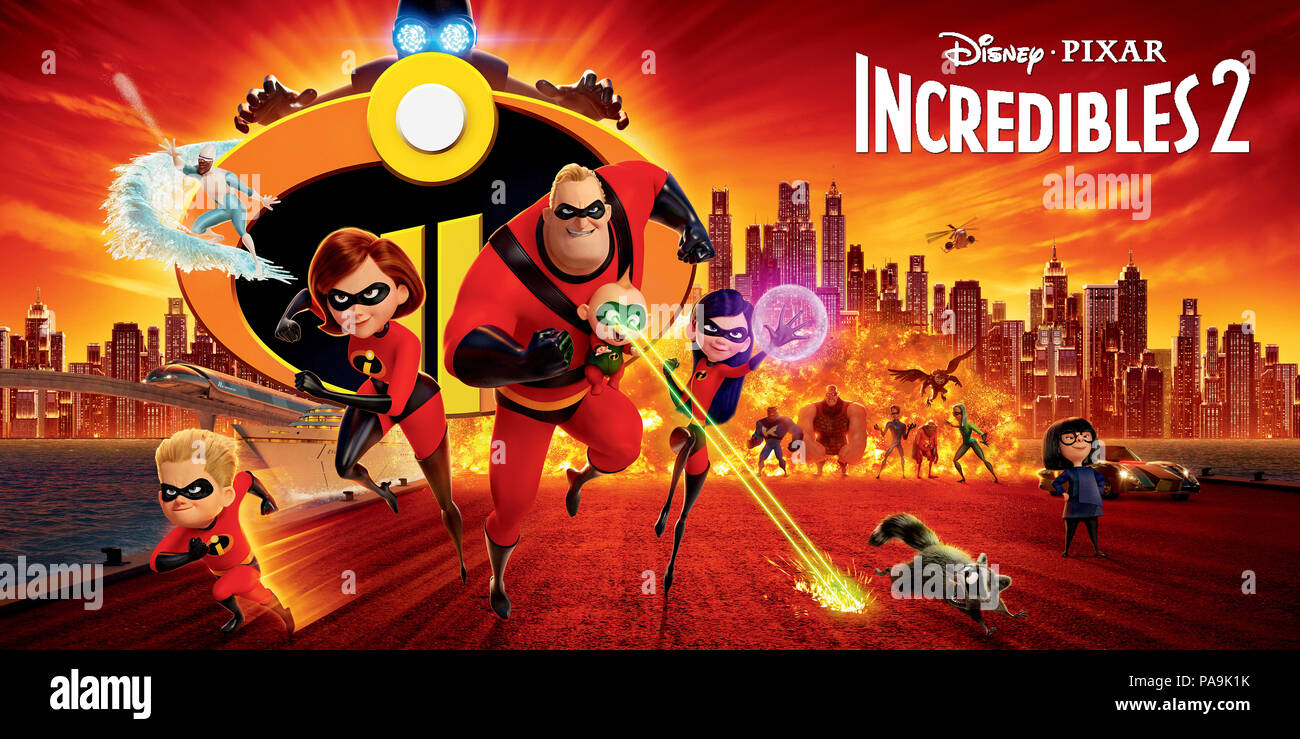 The Incredibles 2 High Resolution Stock Photography And Images Alamy