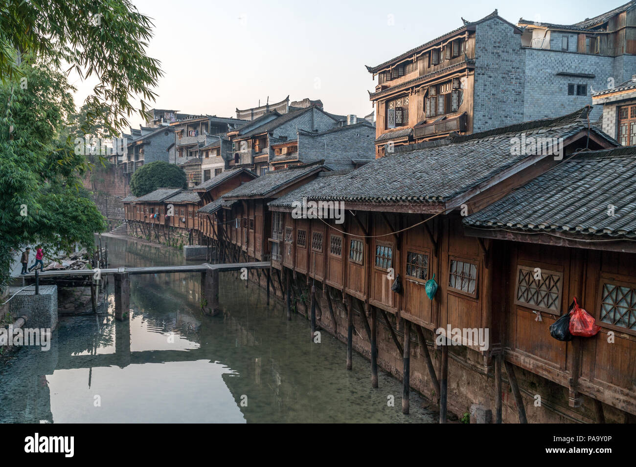 fenghuang ancient town stock photos fenghuang ancient town stock rh alamy com