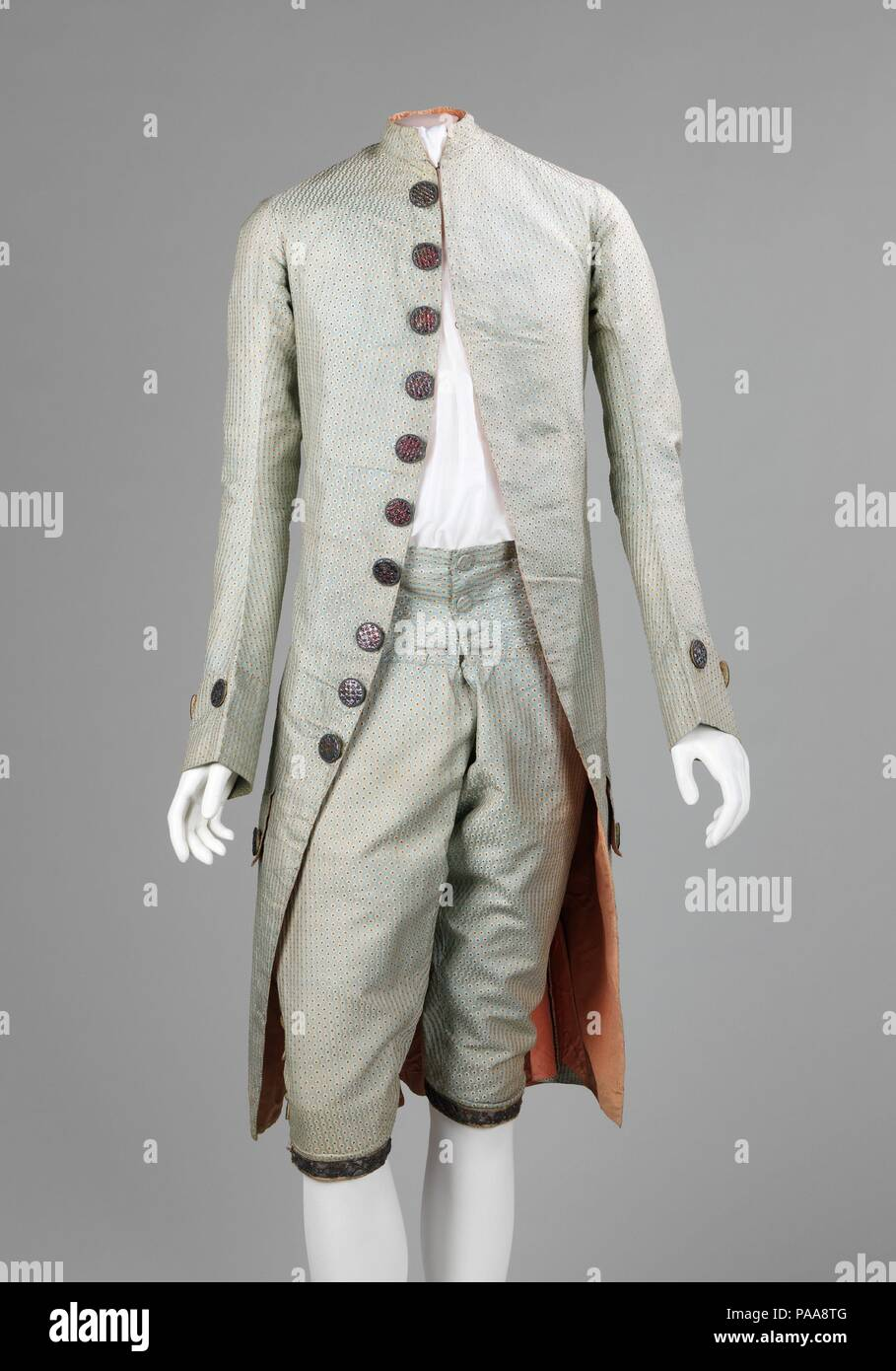 Suit Culture French Date 1765 75 The Distinctive Buttons On
