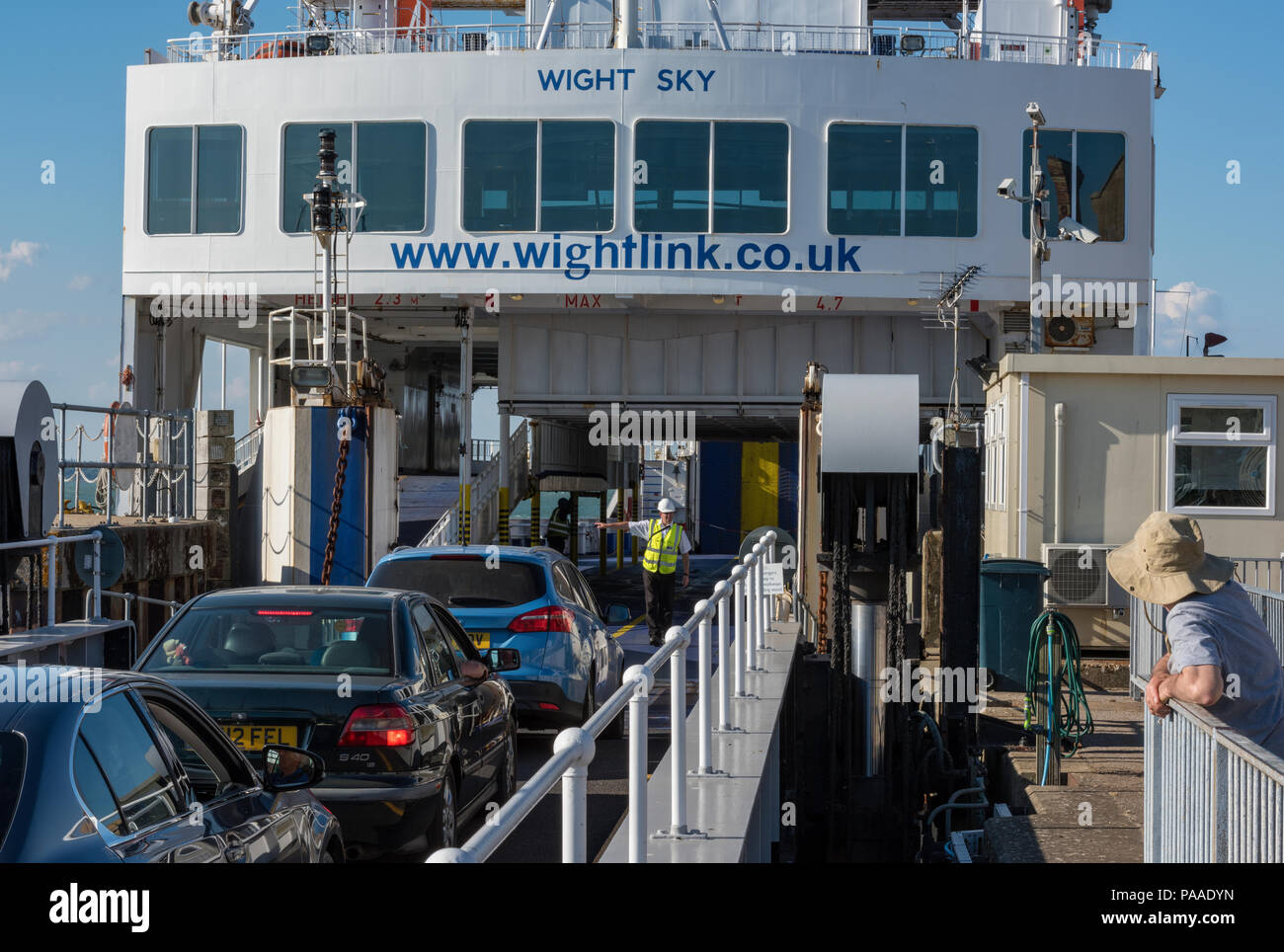 how to get to isle of wight by car