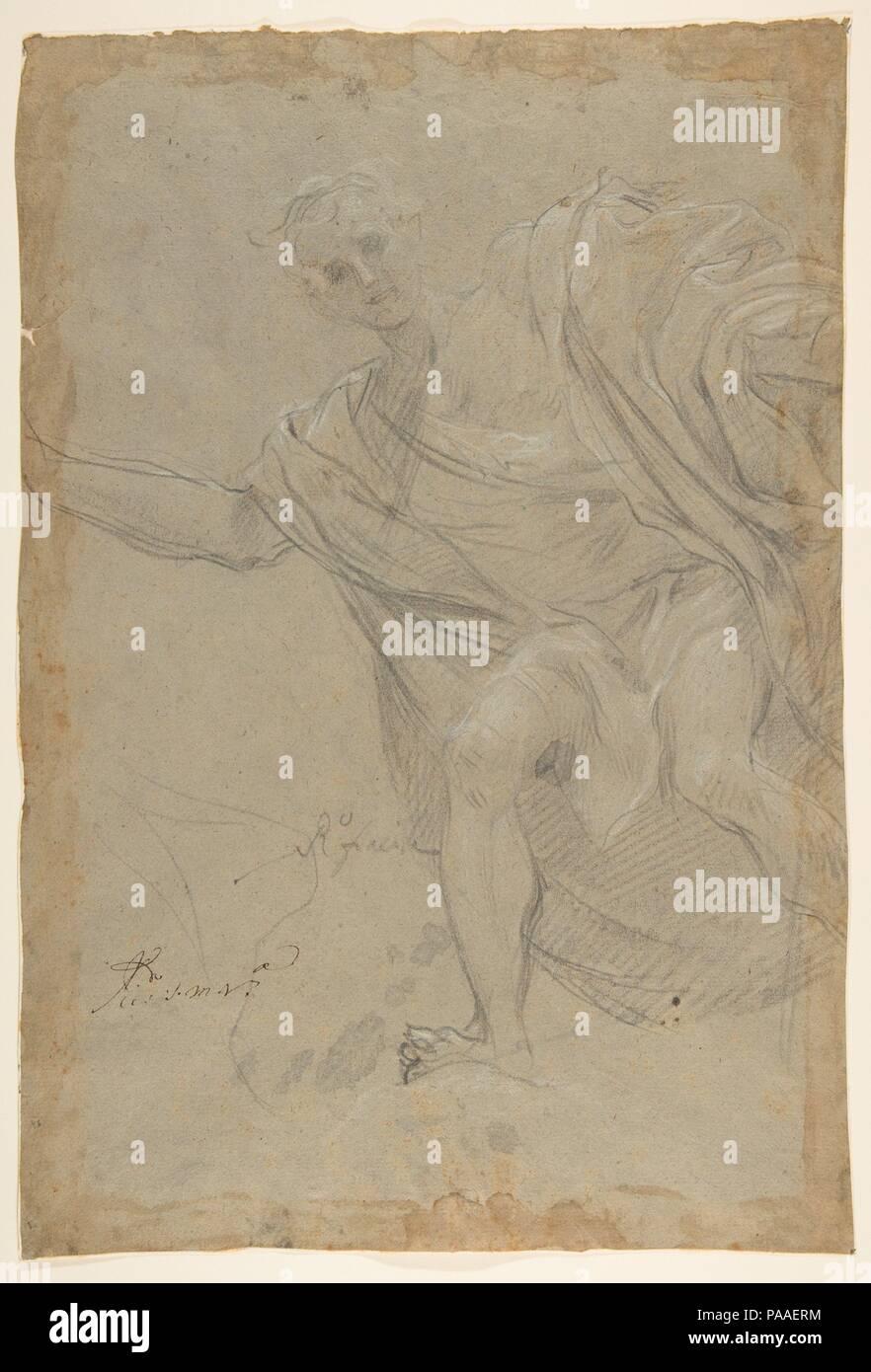 Standing Draped Male Figure  Artist: Baldassarre