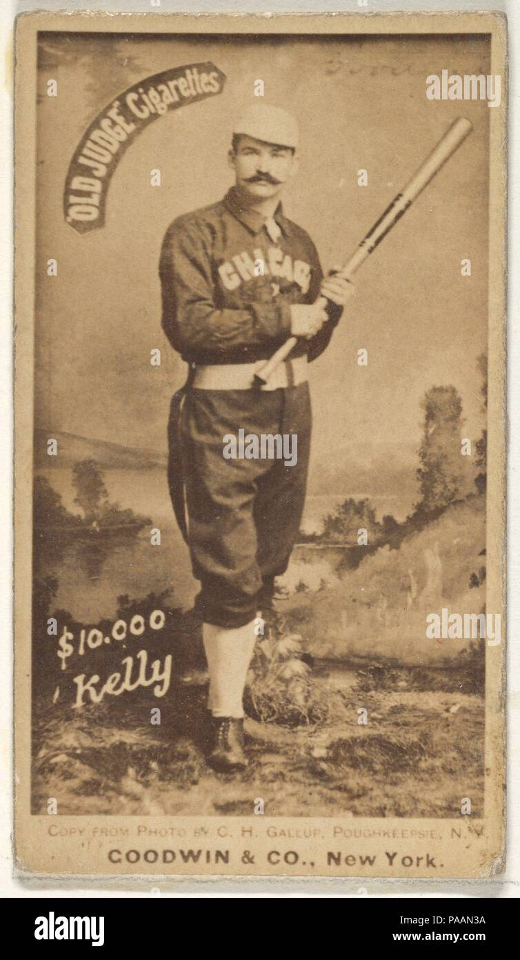 10000 Kelly Chicago From The Old Judge Series N172 For Old