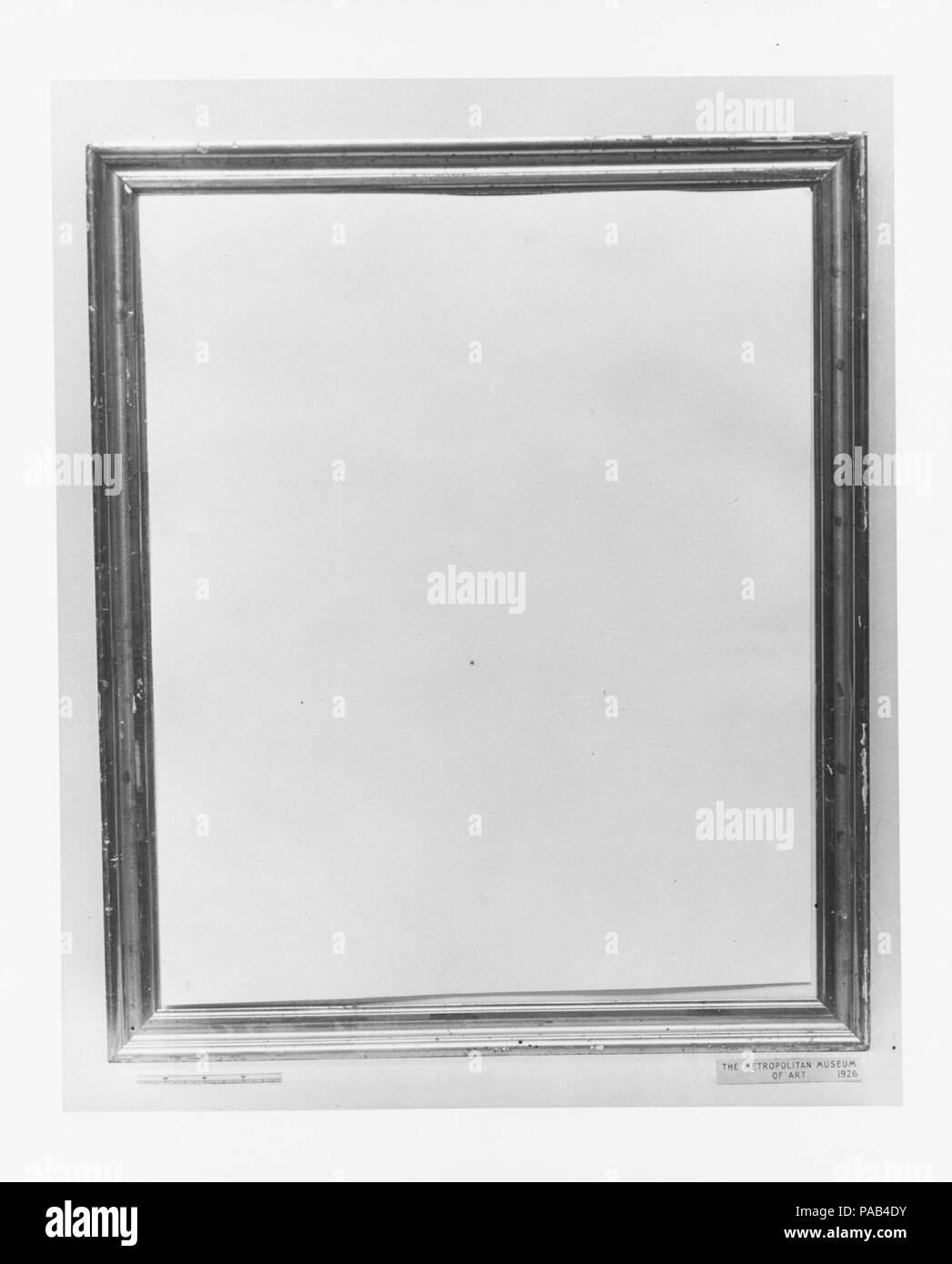 Frame. Dimensions: 24 7/8 x 20 11/16 x 1 in. (63.2 x 52.5 x 2.5 cm ...