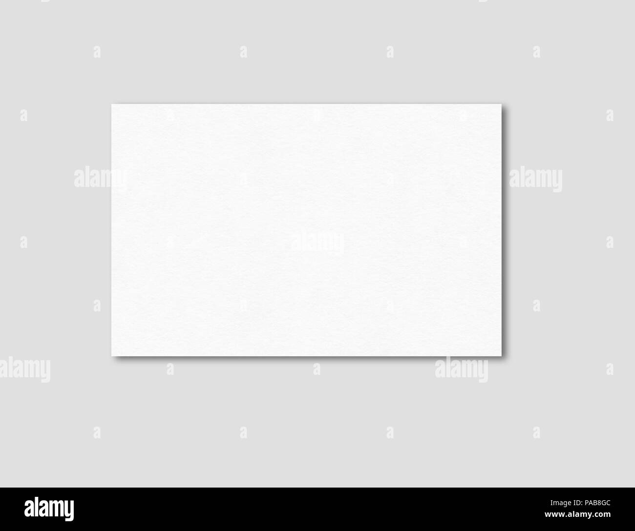 Blank business card mockup template isolated on grey stock photo blank business card mockup template isolated on grey reheart Choice Image