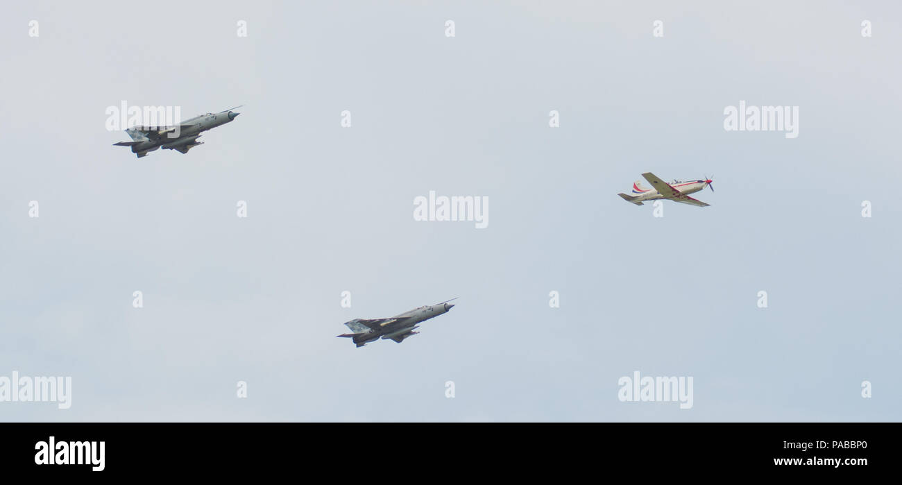MiG-21 interceptor - Stock Image