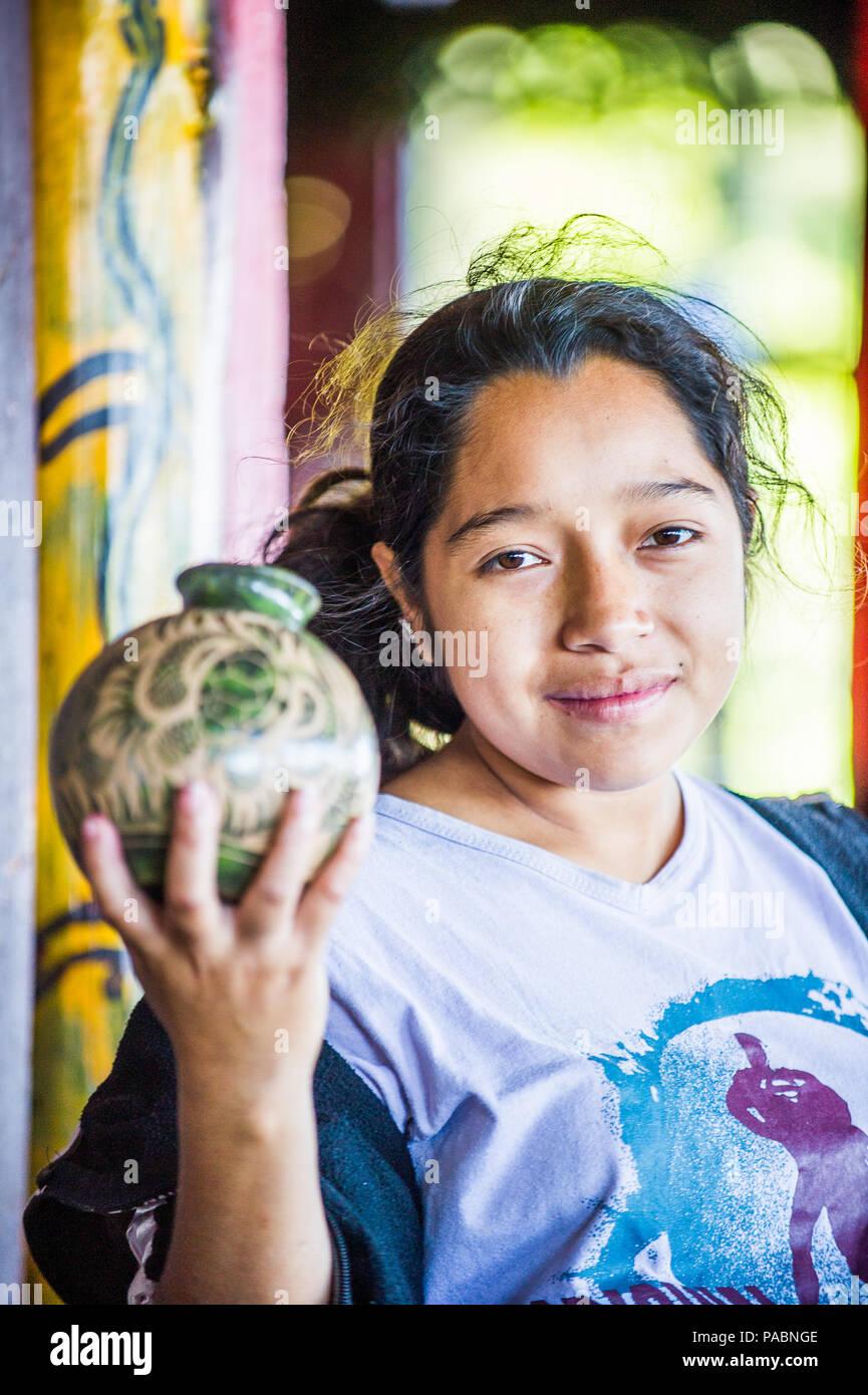 Managua nicaragua jan 6 2012 unidentified nicaraguan girl 69 of