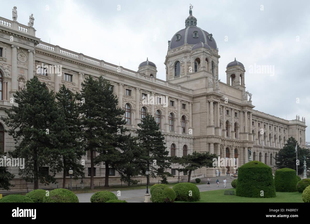 KUNSTHISTORISCHES MUSEUM              VIENNA AUSTRIA - Stock Image