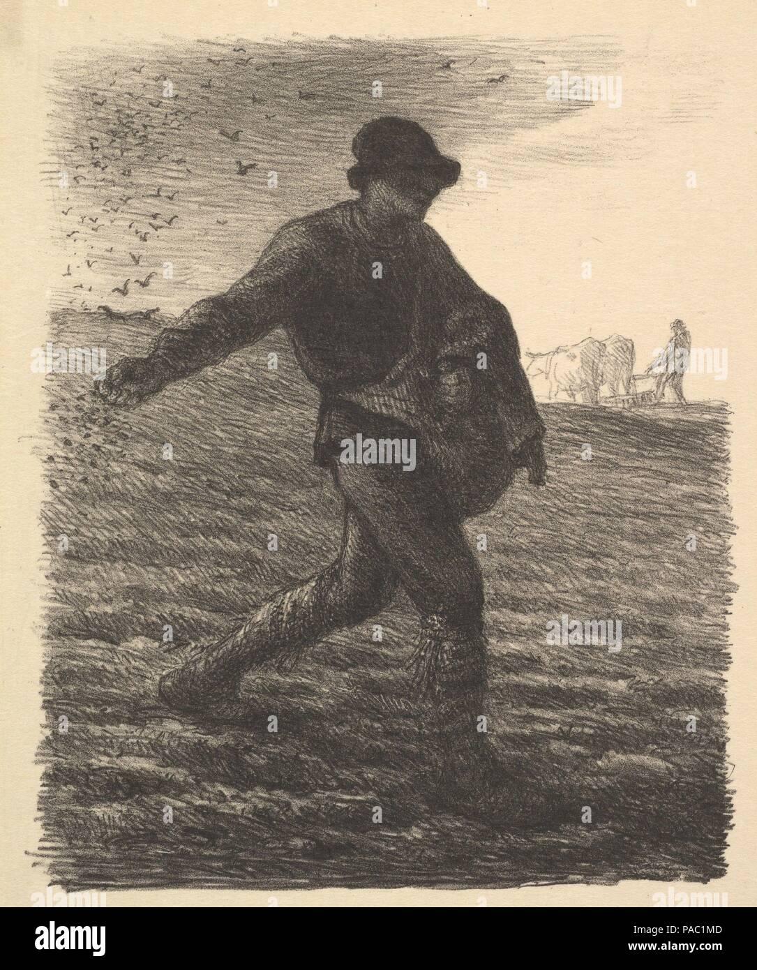 The Sower. Artist: Jean-François Millet (French, Gruchy 1814-1875 ...