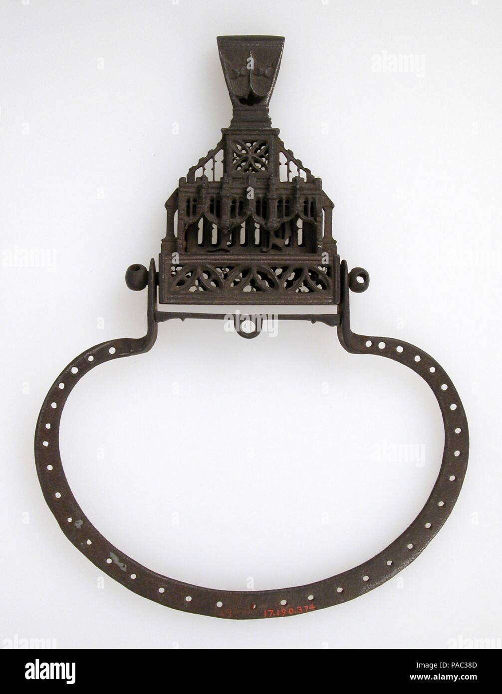 Purse Frame. Culture: French. Dimensions: Overall: 7 9/16 x 5 9/16 x ...