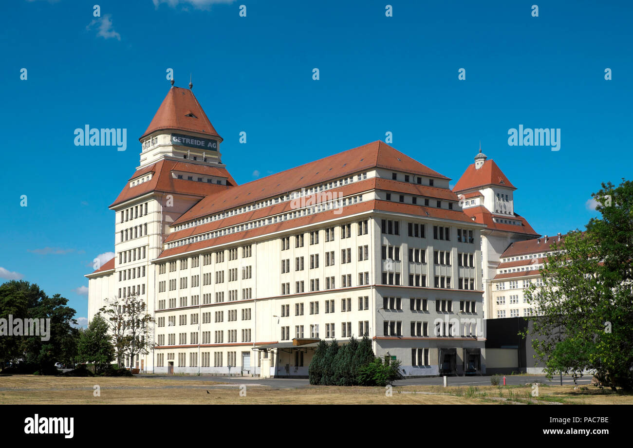 Wurzener Nahrungsmittel GmbH, Ringelnatzstadt Wurzen, Saxony, Germany - Stock Image