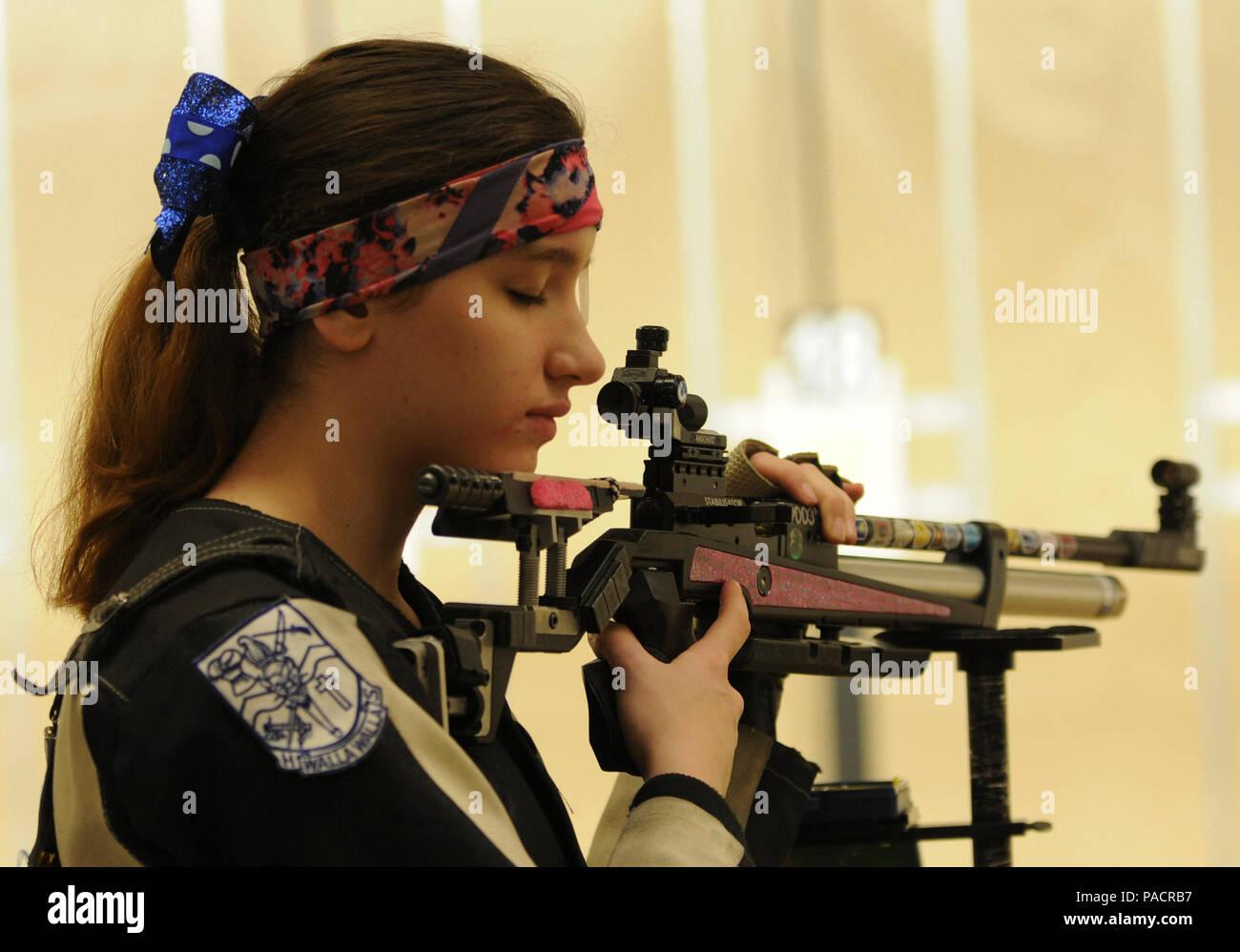 Precision Air Rifle Stock Photos & Precision Air Rifle Stock