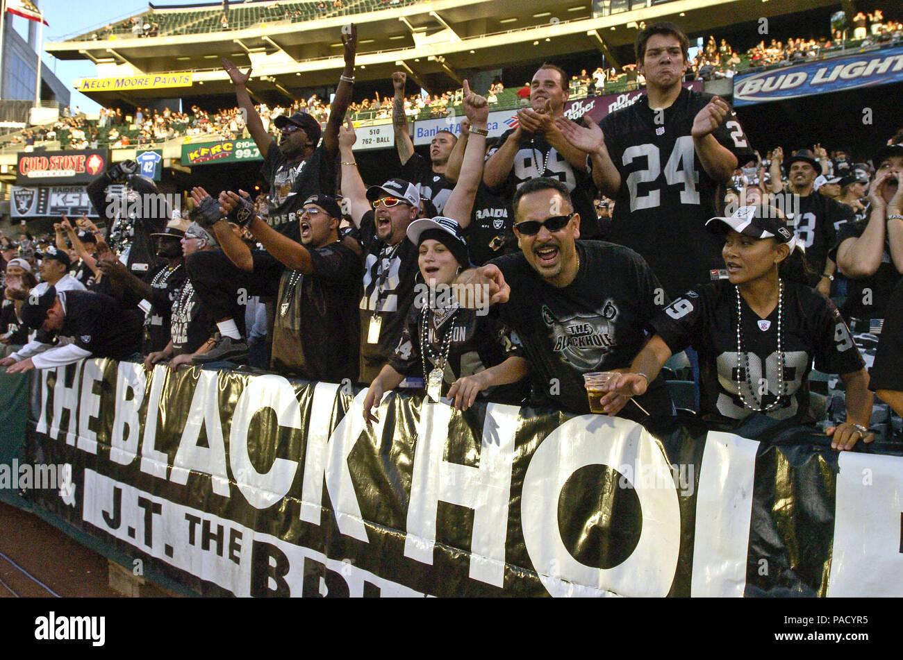 Black Hole Fans : Oakland california usa nd sep the black hole