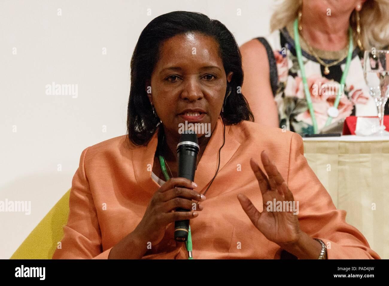 Tokyo, Japan  22nd July, 2018  H E  Mrs  Ndiyoi M Mutiti Ambassador