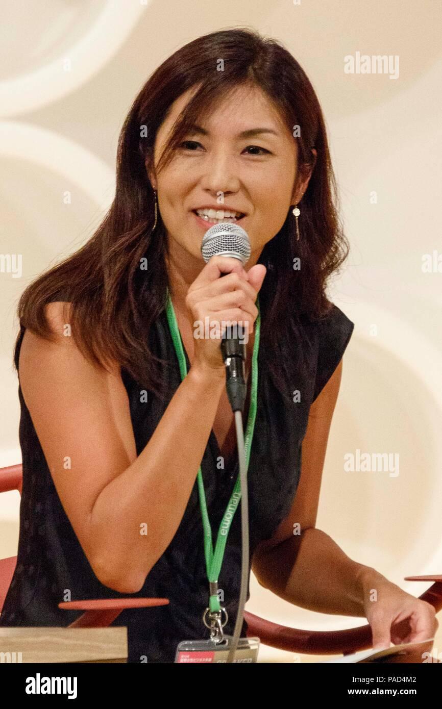 Tokyo, Japan  22nd July, 2018  Minori Takao NHK World News