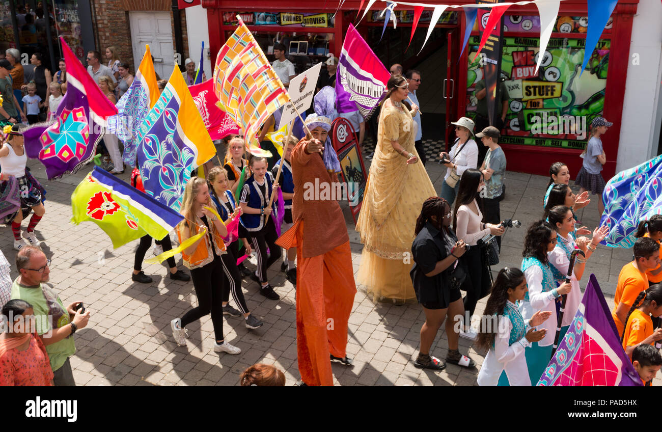 Multicultural Parade Stock Photos & Multicultural Parade Stock ...