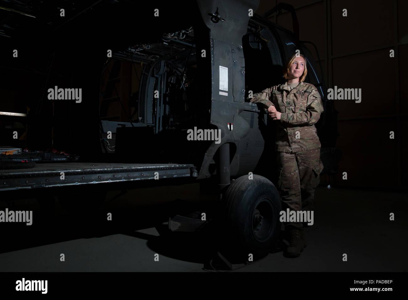 Sgt  Cassandra Peel is an avionic mechanic from Eureka