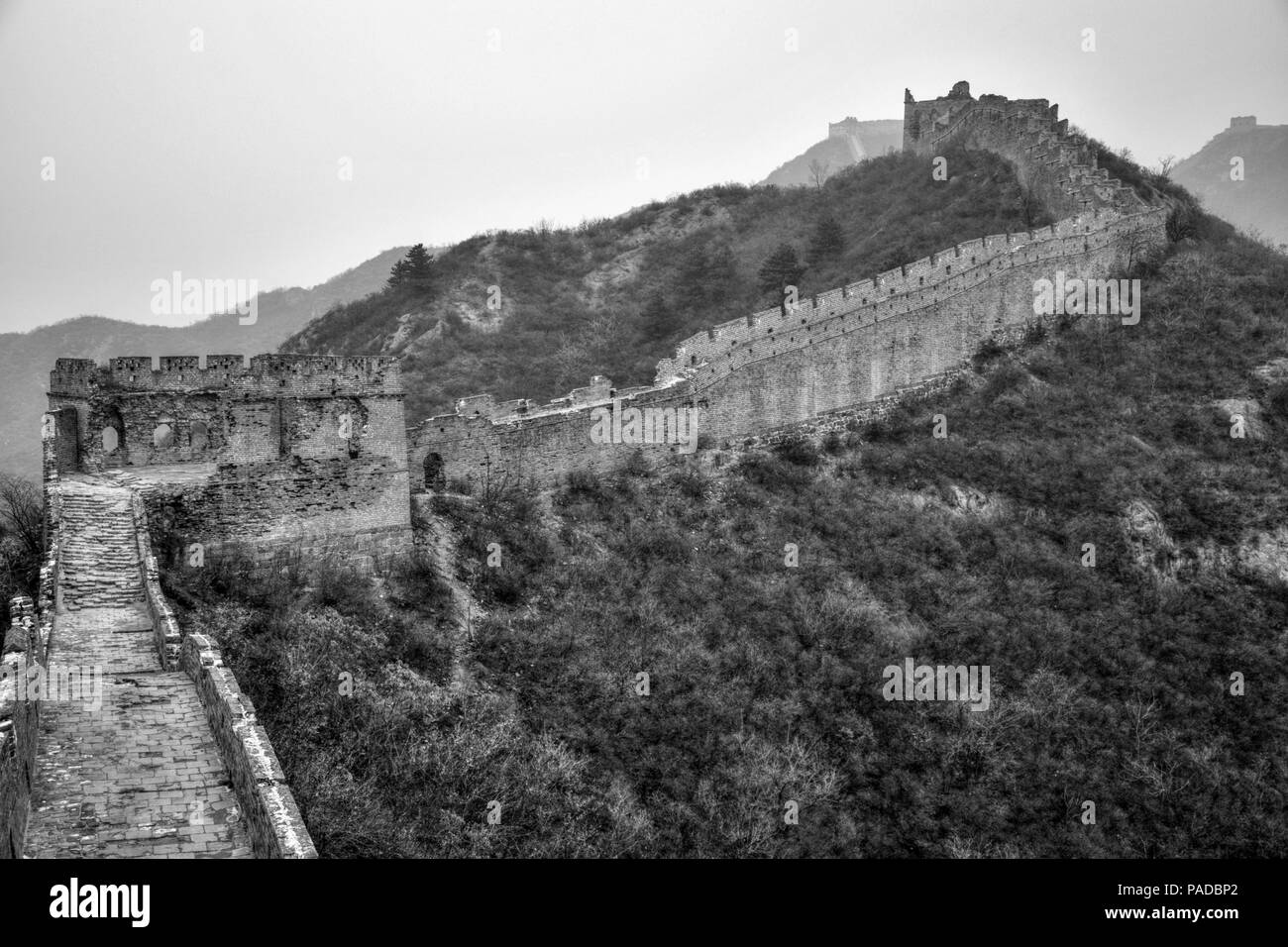 Great Wall Black And White