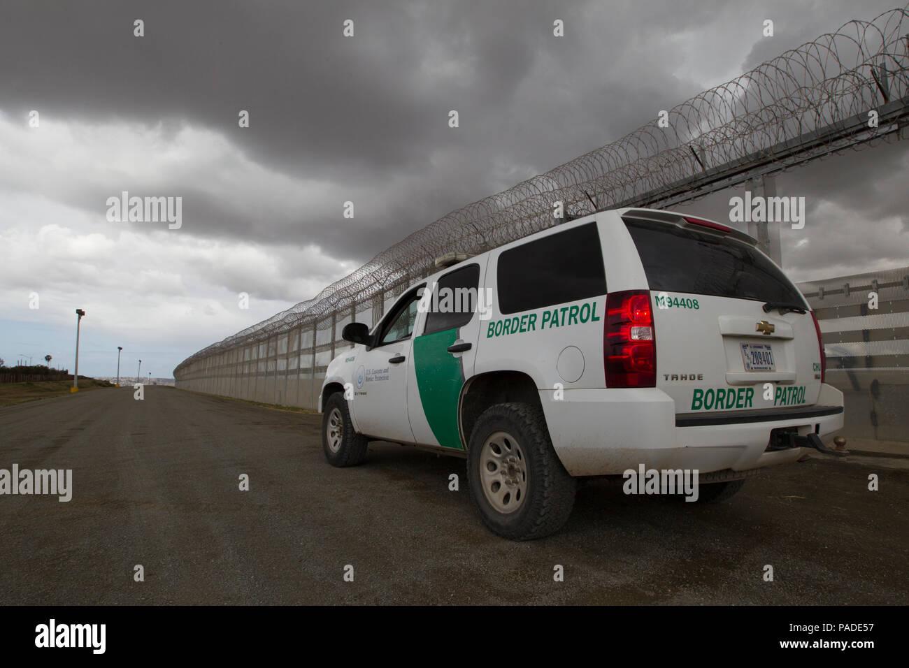 Mexico Border Wall 2016 Stock Photos Mexico Border Wall 2016 Stock