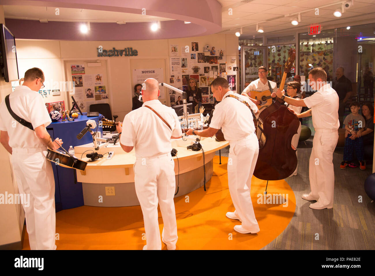 NASHVILLE, Tenn  (September 12, 2017) The U S  Navy Band