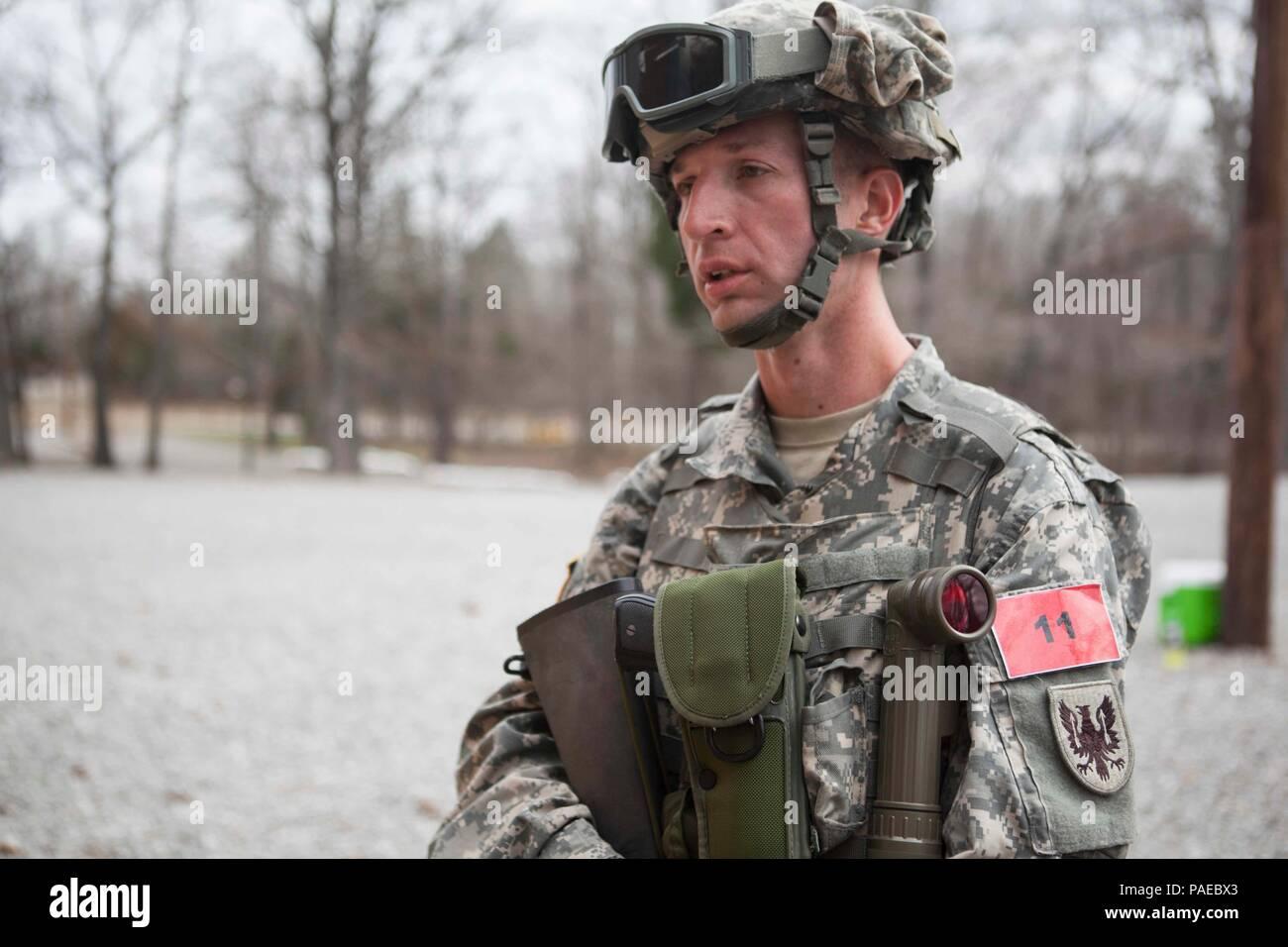 U S  Army Sgt  Jordan Sapp of the 11th Aviation Command
