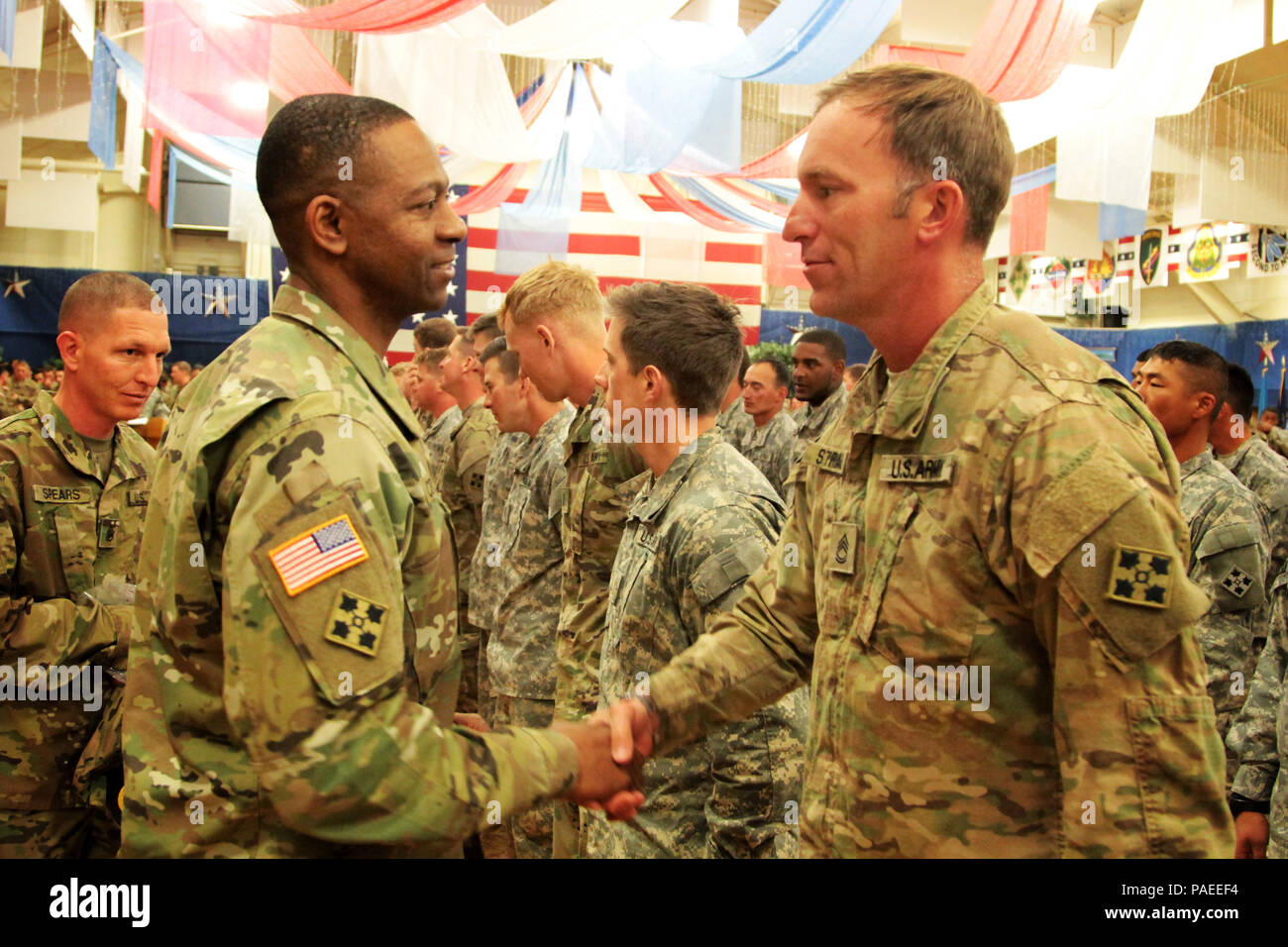 Command Sgt  Maj  Michael A  Crosby, 4th Infantry Division