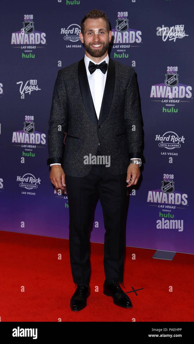 2018 Nhl Awards Red Carpet At Hard Rock Hotel And Casino Las Vegas
