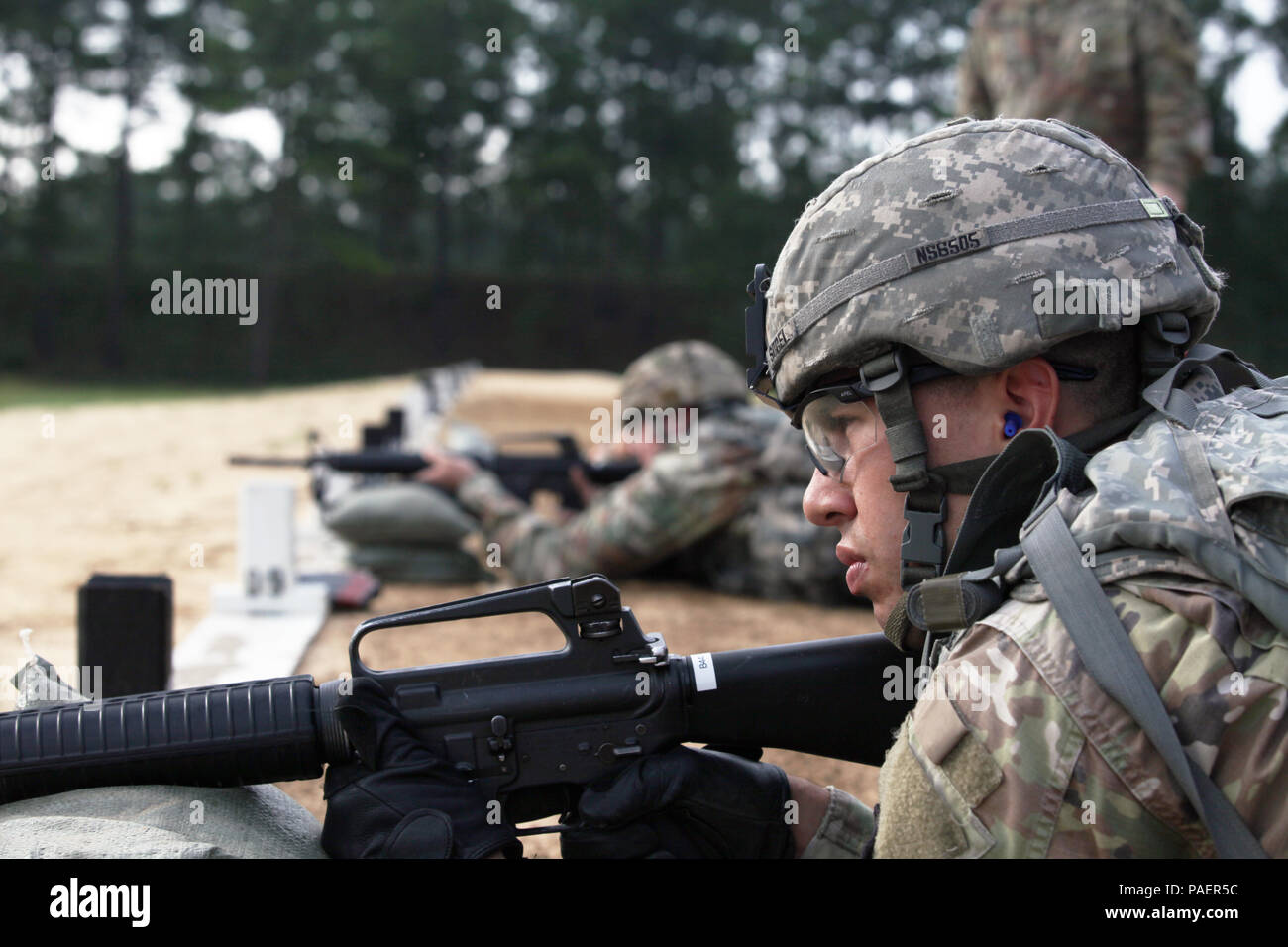 Spc  Nicholas Sobel from the U S  Army Center for Initial