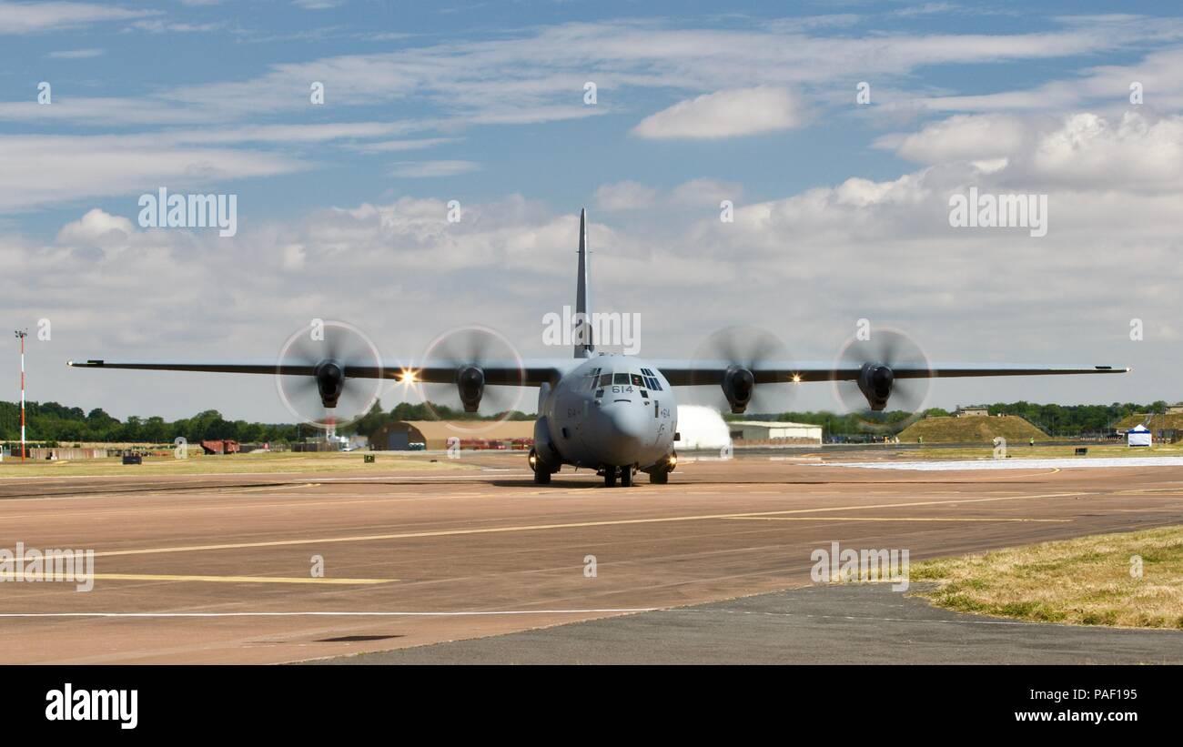 Royal Canadian Air Force CC-130 Hercules Stock Photo