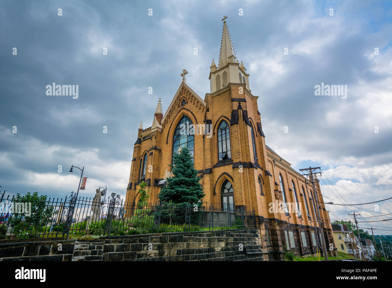 St Mary Of The Mount >> St Mary Of The Mount Church On Mount Washington In Pittsburgh