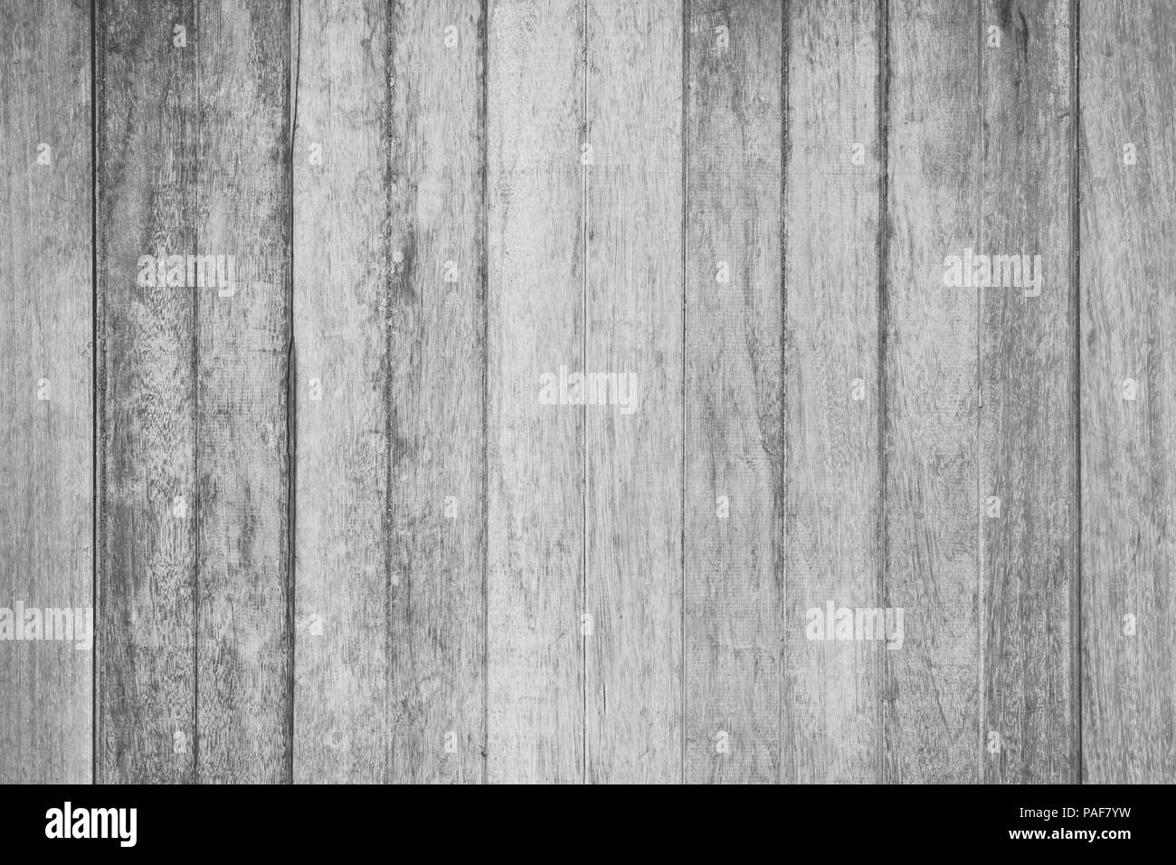 Wooden wall texture in black and white rustic background