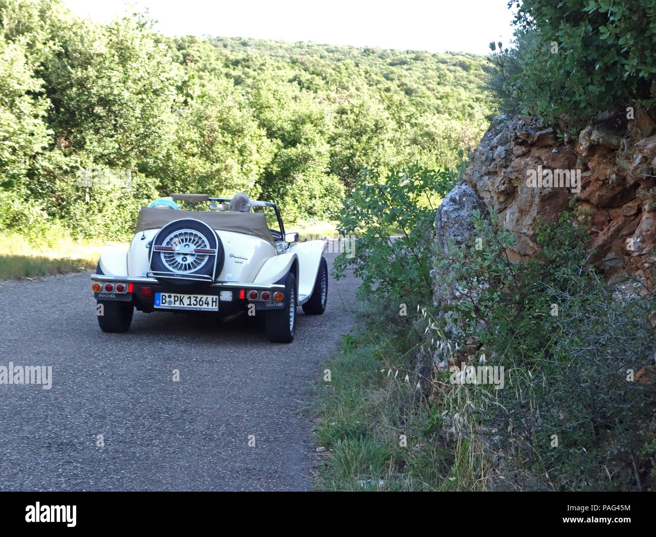 A wonderful two seater sports car, the 2.8 Ltr Panther Kallista seen ...