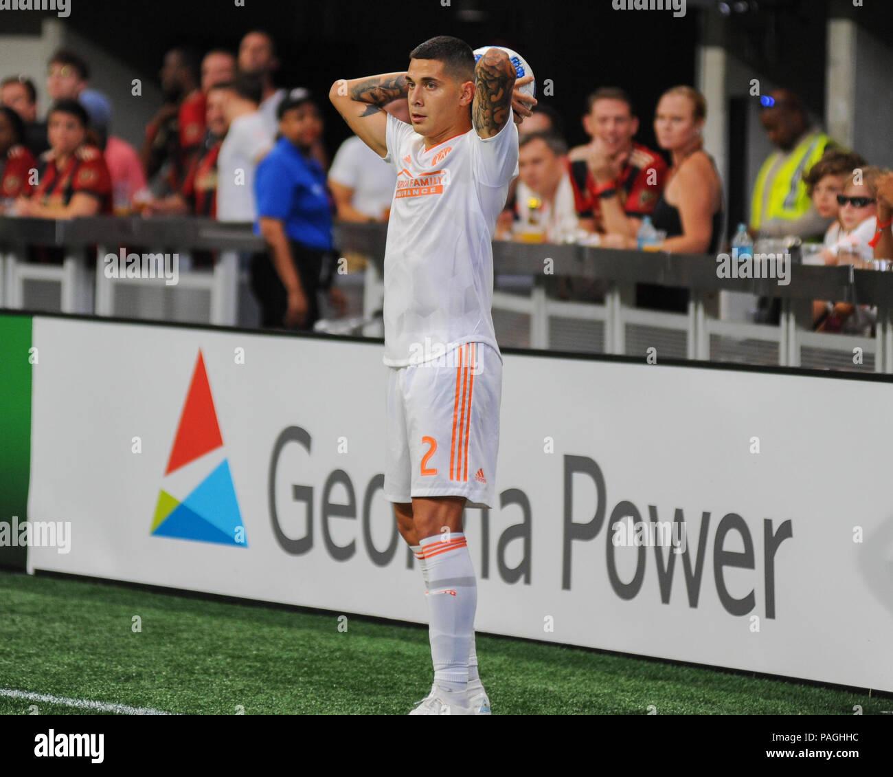 Atlanta Ga Usa 21st July 2018 Atlanta Defender Franco Escobar